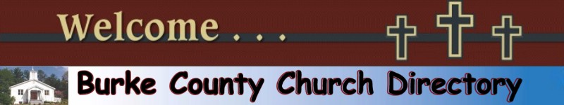 Burke County, NC Church Directory